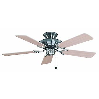 Ceiling Fan Mayfair Maple / Steel 107cm / 42