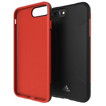Adidas originals dual layer hard case for Apple iPhone 8 7 6s 6 plus protective case cover Red