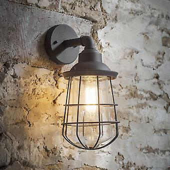 Garden Trading Finsbury Exterior Wall Light In Charcoal