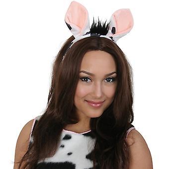 Bandana vaca orelhas traje animal acess