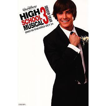 Affiche du film High School Musical 3 Senior Year (27 x 40)
