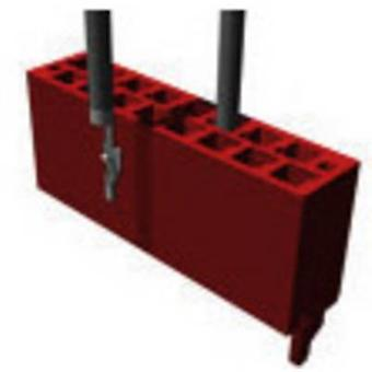 TE Connectivity Pin enclosure - cable Micro-MaTch Total number of pins 18 Contact spacing: 1.27 mm 1-338095-8 1 pc(s)