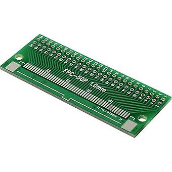 Prototyping PCB Epoxide (L x W) 26 mm x 24 mm 35 µm Contact spacing 2.54 mm Conrad Components FPC50P Content 1 pc(s)