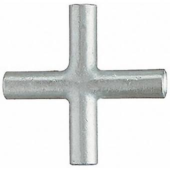 Klauke SKV4 Cross connector 4 mm² Not insulated Metal 1 pc(s)