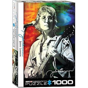 John Lennon Live In New York 1000 Piece Jigsaw Puzzle 680Mm X 490Mm