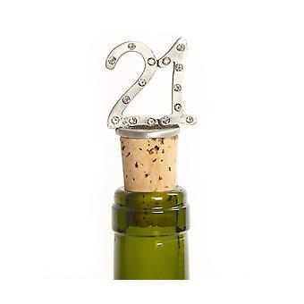21 Cork Bottle Stopper
