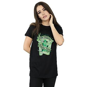 Harry Potter vrouwen brandstof poeder Boyfriend Fit T-Shirt