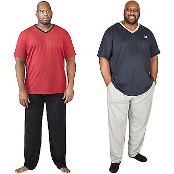 Duke D555 Mens Concorde Big Tall King Size T-Shirt Trouser Bottoms Pyjamas Set