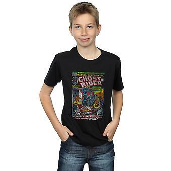 Marvel gutter Ghost Rider Distressed Spotlight t-skjorte