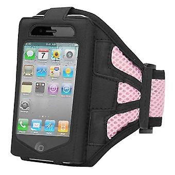 TRIXES Sports Running Pink Armband for Apple iPhone 4/4G