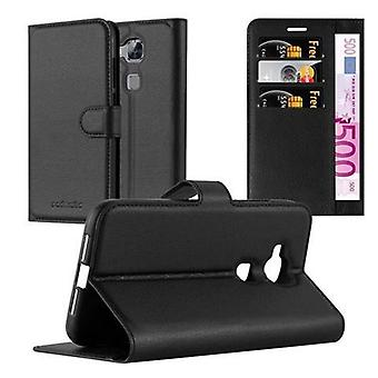 Cadorabo Case for Huawei G7 PLUS / G8 / GX8 Case Cover - Phone Case case with magnetic clasp, stand function and card compartment – Case Cover Case Case Case Case Case Book Folding Style