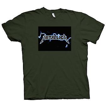 Herren T-Shirt - Metallica Logo - Rock Metall