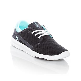 Etnies Navy-Blue-White Scout Womens Shoe