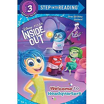 Welcome to Headquarters (Disney/Pixar Inside Out) (Step Into Reading - Level 3 - Quality)
