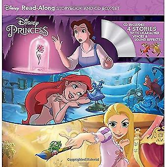 Disney Princess Läs-längs sagobok och CD Boxed Set (Läs-längs sagobok och CD)