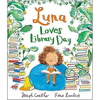 Luna älskar bibliotek dag