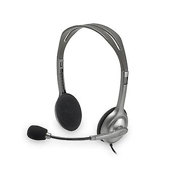 Headsets with Microphone Logitech H110 2 x Jack 1.4 m