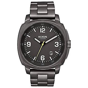 Nixon Mens Quartz analog watch with stainless steel band A1072-632-00