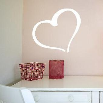 HEART WALL ART STICKER