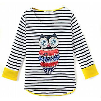 Top long sleeve with owls William