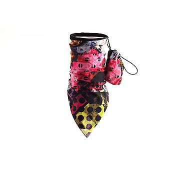 MaxFred multifunction cloth patterned kids outdoor scarf with fleece partytime bunt
