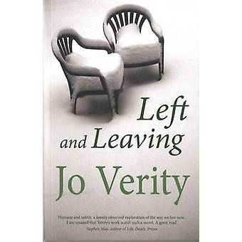 Left and Leaving by Jo Verity - 9781906784980 Book