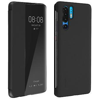 Huawei P30 Pro Folio Smart View Full Protection Original Black