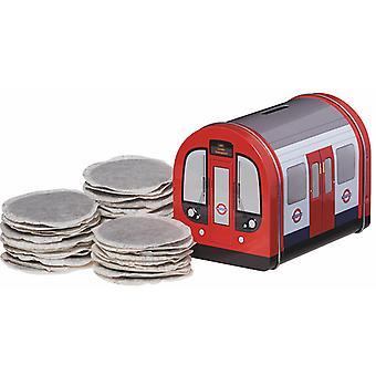 Licensed underground train 40 english breakfast tea bags (125g)