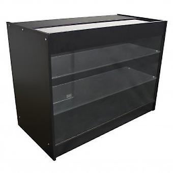 K1200 Retail Product Display Cabinet - Black