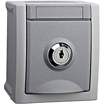 VIKO PG socket (lockable) Pacific Grey 90591045-DE