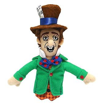 Finger Puppet - UPG - Mad Hatter Soft Doll Toys Gifts Licensed New 2189