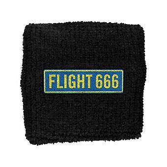 Iron Maiden svederemmen Flight 666 band logo nye officielle nye sort bomuld
