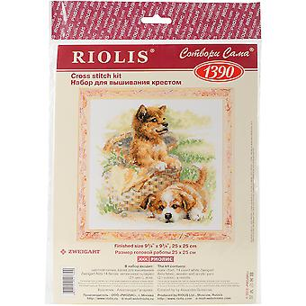 Tender Age Counted Cross Stitch Kit-9.75