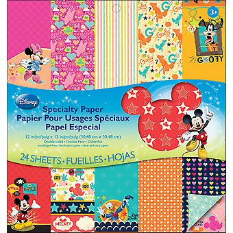 Disney Double Sided Specialty Paper Pad 12