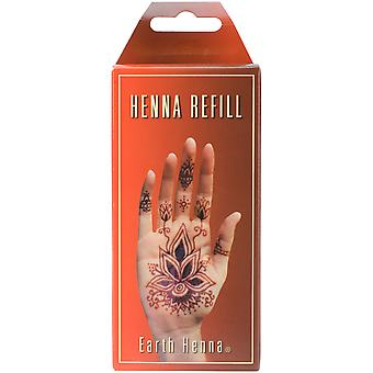 Earth Henna Body Painting Kit Refill Orange Rfkt