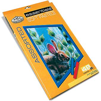 Soft Pastels 48 Pkg Assorted Cpaa48