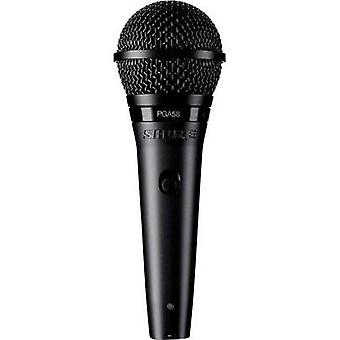 Microphone (vocals) Shure PGA58-QTR-E Transfer type:Corded incl. cable, incl. clip, Steel enclosure, Switch