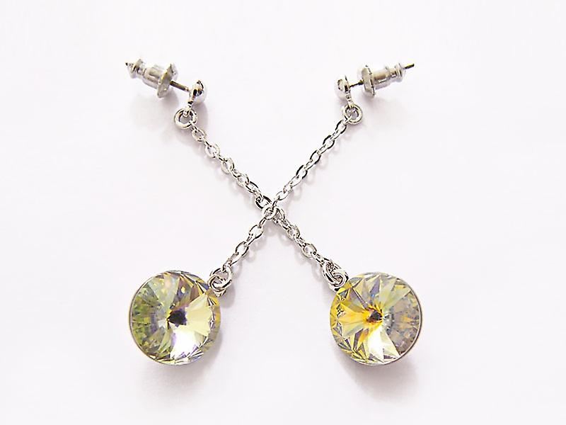 Aurora Crystal drop earrings EMB 14.6