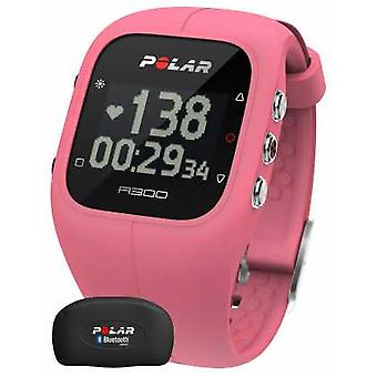 Polar Unisex A300 Activity Tracker Pink With Heart Rate Monitor 90054243 Watch