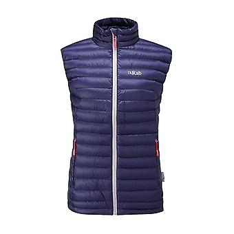 Rab Womens Microlight Vest Twilight (Size UK 14)