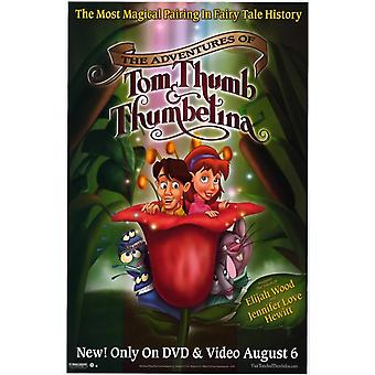The Adventures of Tom Thumb and Thumbelina Movie Poster Print (27 x 40)
