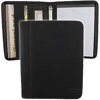 Greenland West Coast leather ring binder A4 822-25