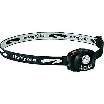 LED Headlamp LiteXpress Liberty 120 battery-powered 96 g Black LXL20920S1