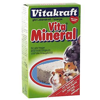 Vitakraft pequeña piedra Mineral Animal 170g (paquete de 10)