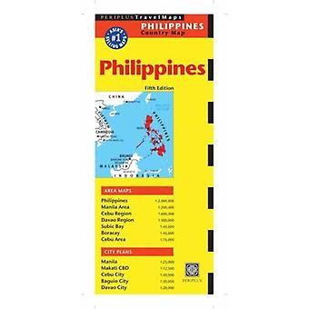 Philippines Travel Map (Periplus Country Maps) (Periplus Travel Maps) (Map) by Periplus Editors