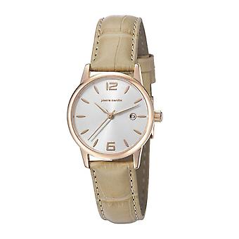 Pierre Cardin ladies watch wristwatch JUSSIEU leather PC106732F08
