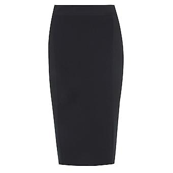pencil skirt with textured front