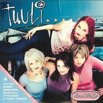 Tuuli - her går vi [CD] USA import
