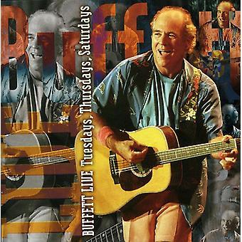 Jimmy Buffett - Live-tirsdage torsdage lørdage [CD] USA Importer