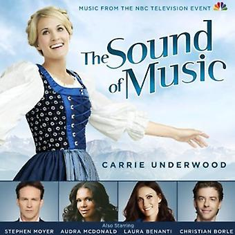 Oprindelige TV Soundtrack Feat. Carrie Underwood - The Sound of Music [2013 NBC tv-Cast] [CD] USA import